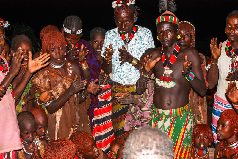 Etiopisk förbindelse arkivbilder