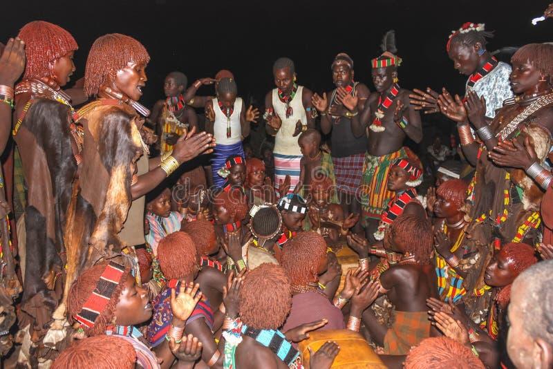 Etiopisk förbindelse royaltyfri bild
