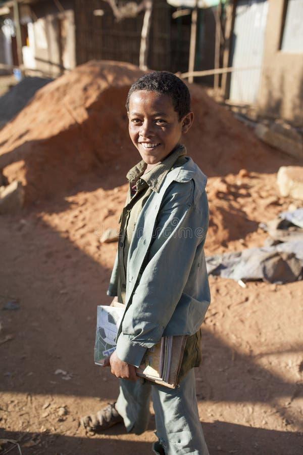 Etiopisk student fotografering för bildbyråer