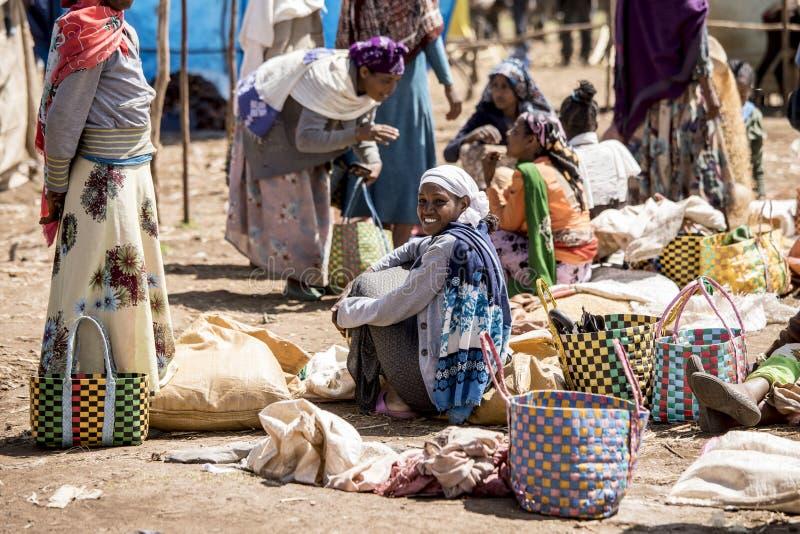 Etiopiska köpmän royaltyfri foto