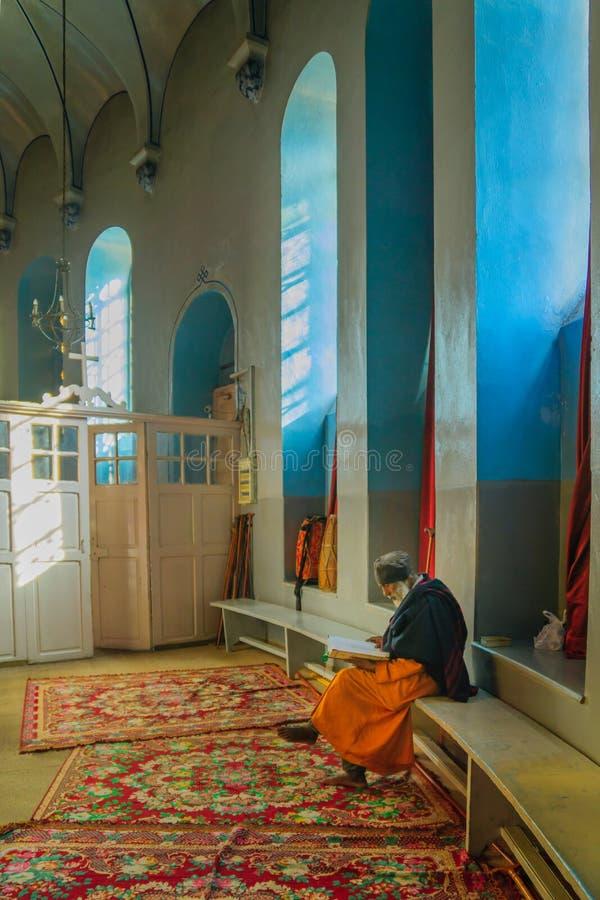 Etiopski Ortodoksalny Tewahedo kościół, Jerozolima zdjęcie royalty free