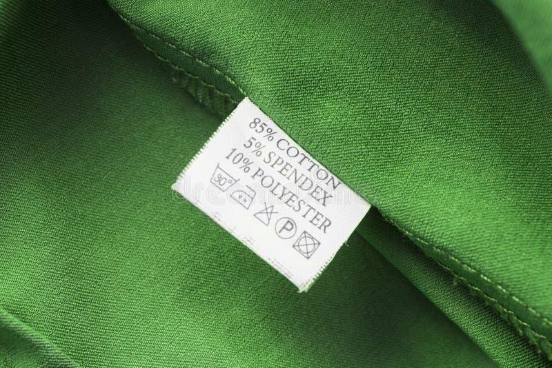 etiqueta imagem de stock