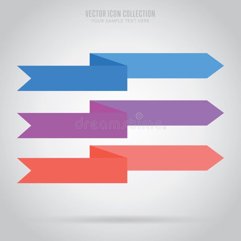 Etiqueta abstracta de la cinta, vector aislada ilustración del vector