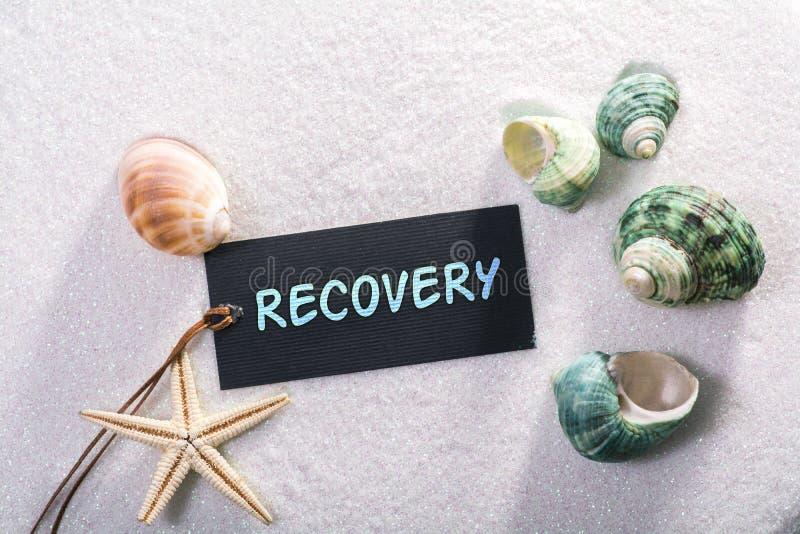 Etiqueta con la recuperación fotos de archivo libres de regalías