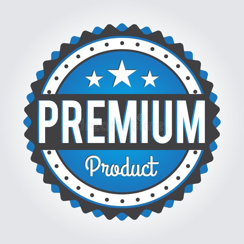 Etiqueta/crachá superiores do comércio Para o signage, imprime e carimba ilustração stock