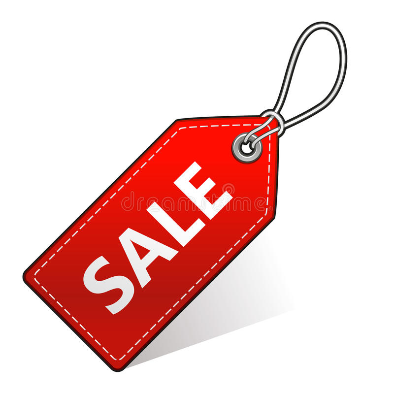 Etiqueta da compra da venda fotos de stock royalty free