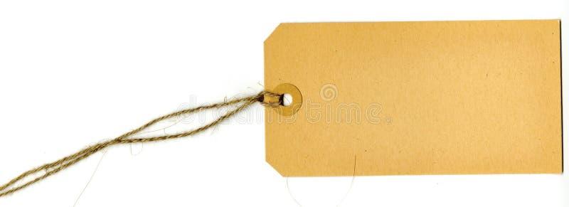 Etiqueta de la escritura de la etiqueta imagen de archivo