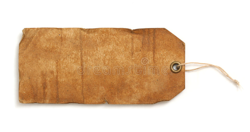 Etiqueta de la vendimia foto de archivo