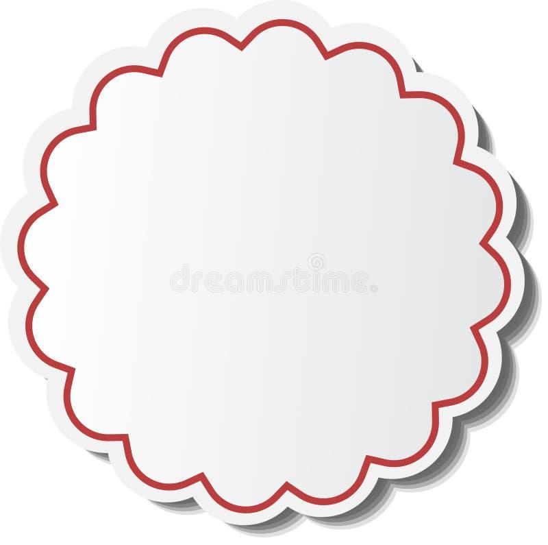 Etiqueta de la venta ilustración del vector