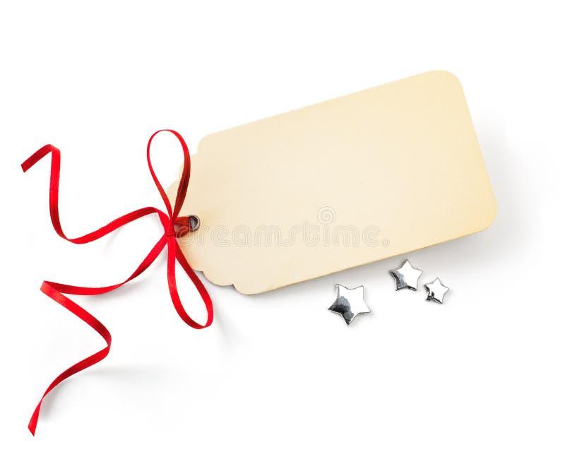 Etiqueta de las ventas de Art Christmas fotos de archivo