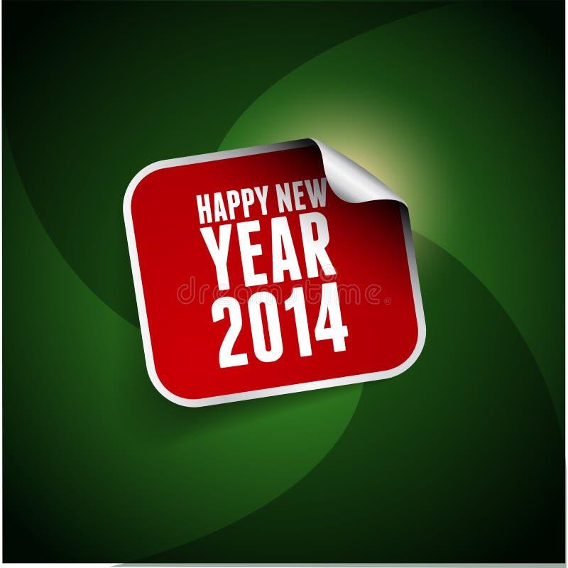 Download Ano novo feliz 2014 ilustração stock. Ilustração de projeto - 29825728
