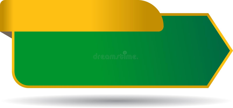 Etiqueta en blanco de las ventas con la cinta ilustración del vector