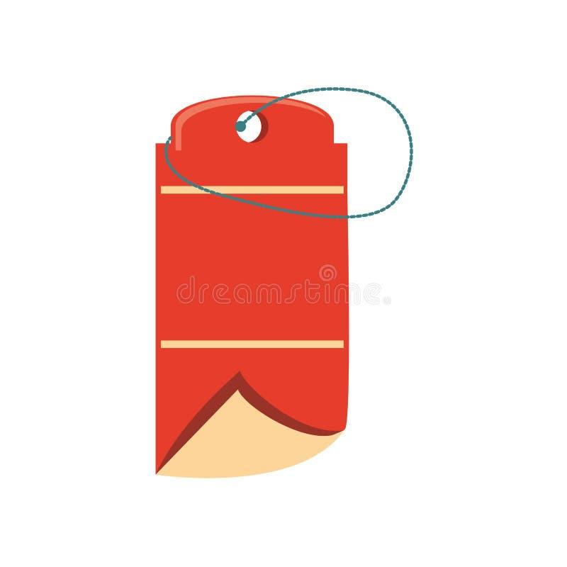 Etiqueta engomada comercial del sello de la etiqueta libre illustration