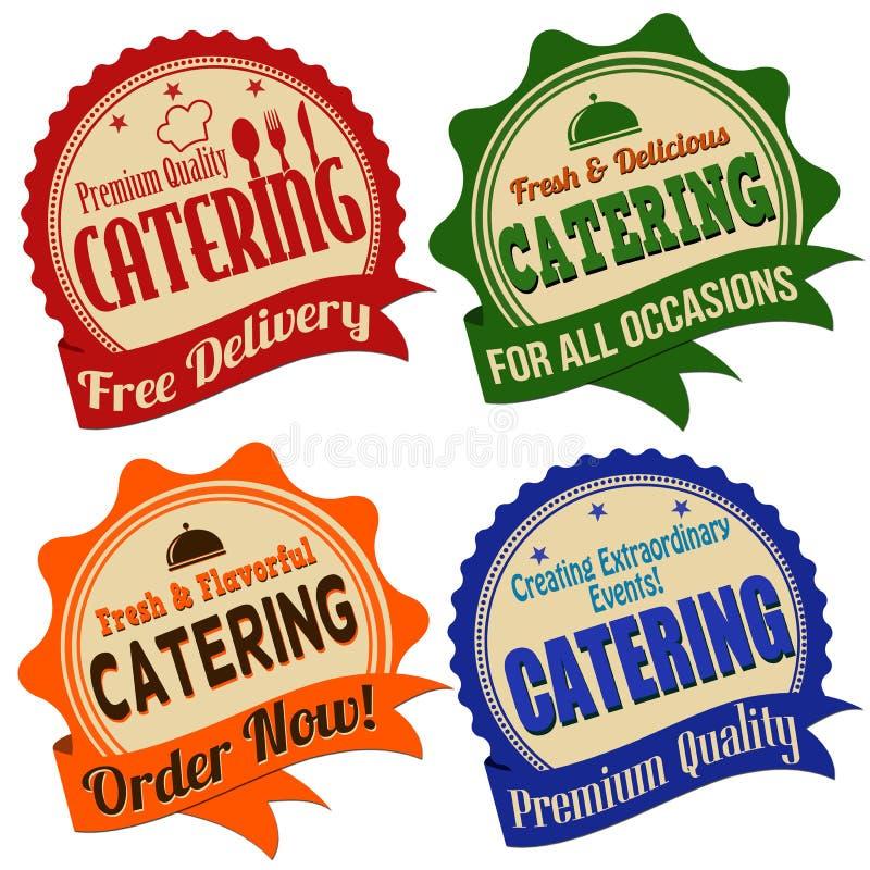 Etiqueta, etiqueta engomada o sellos de abastecimiento libre illustration