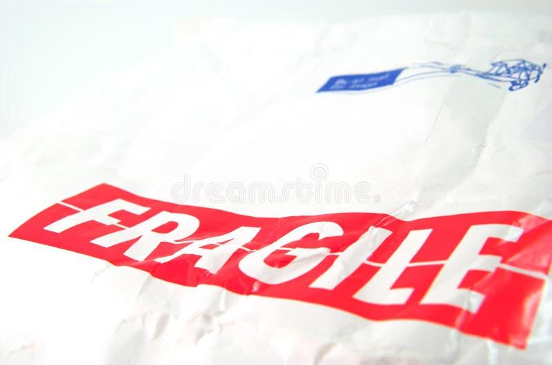 Download Etiqueta Frágil Y Sobre Blanco Viejo Foto de archivo - Imagen de salida, maneta: 1285958
