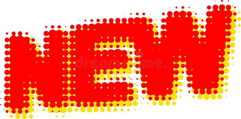 Download Etiqueta nova ilustração stock. Ilustração de logo, tração - 12810680