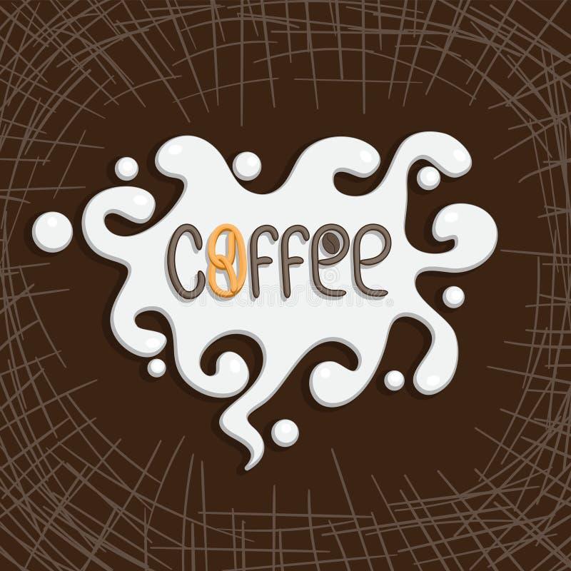 Etiqueta Premium De Café, Crachá De Café, Emblema De Café. Assinar Restaurante, Café, Loja. Ilustração vetorial ilustração stock
