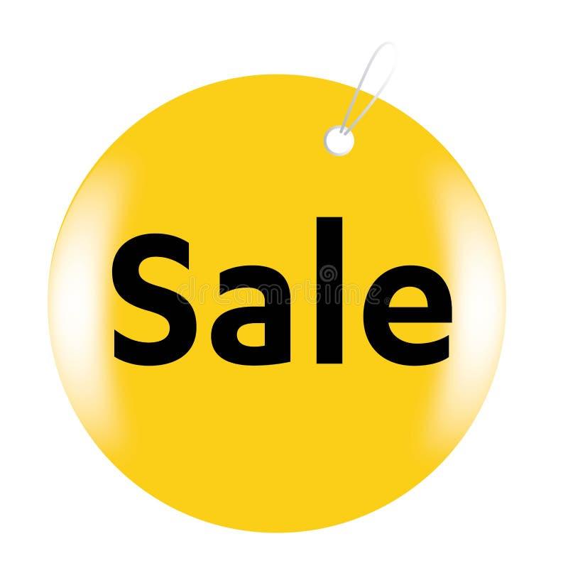 Etiqueta roja de la venta, strickers aislados tienda, iconos, muestras, etiqueta, ejemplos fijados, vector que hace compras ilustración del vector