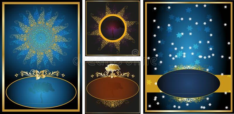 Etiquetas ilustração royalty free