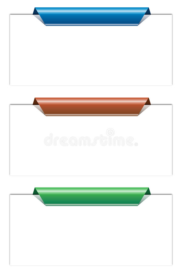 Etiquetas stock de ilustración