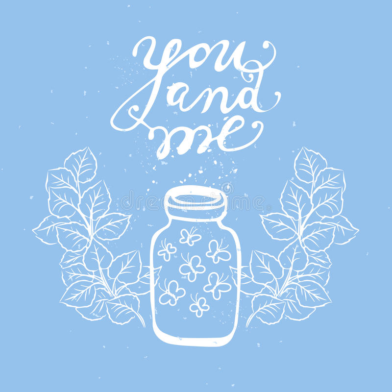 Etiquetas bonitos do presente Amor ilustração do vetor