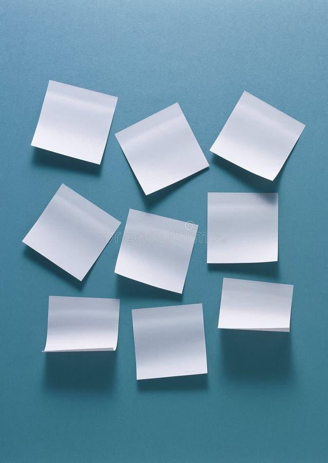 Etiquetas brancas imagens de stock