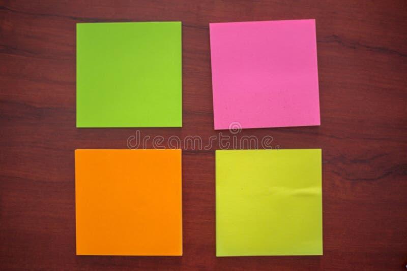 Etiquetas coloridas, fotografia de stock royalty free
