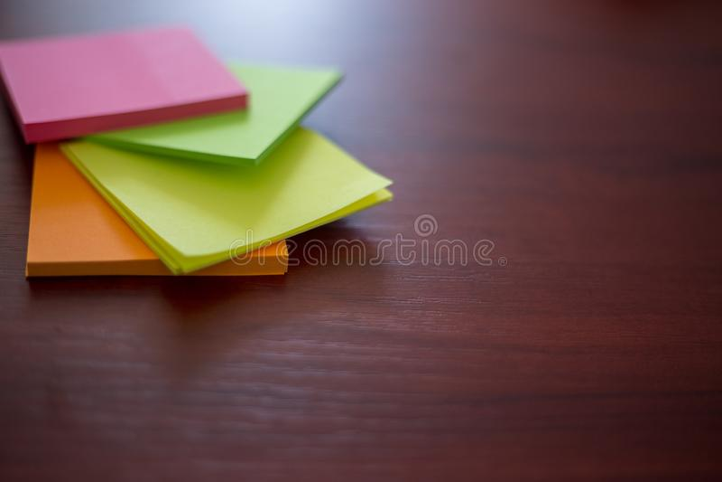 Etiquetas coloridas, imagem de stock royalty free
