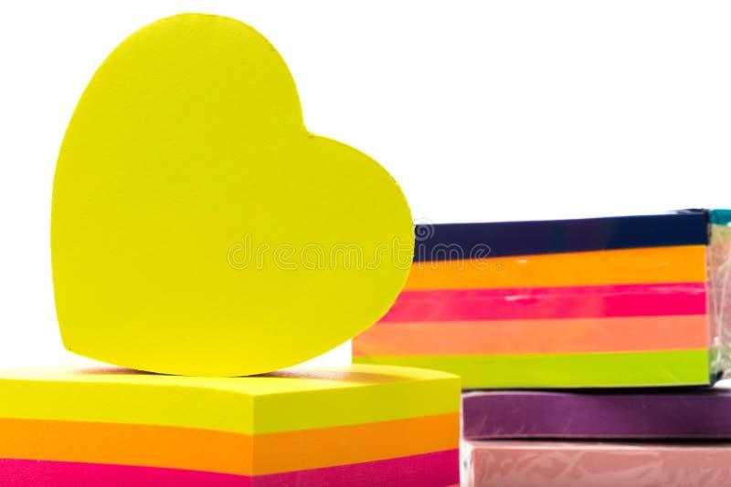 etiquetas Etiquetas coloridos em um branco foto de stock