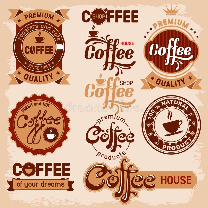 Etiquetas do café