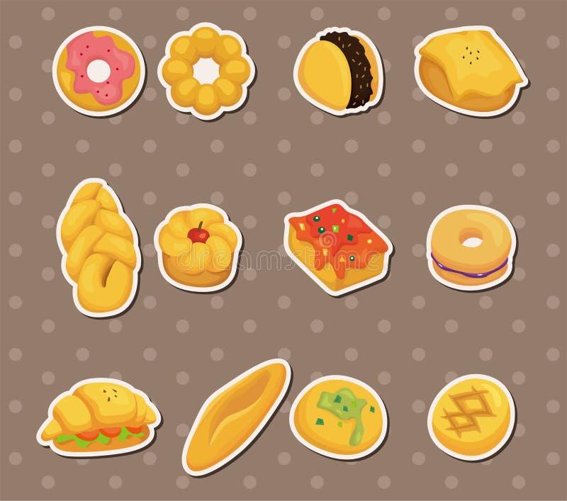 Download Etiquetas do pão ilustração do vetor. Ilustração de coza - 26517941