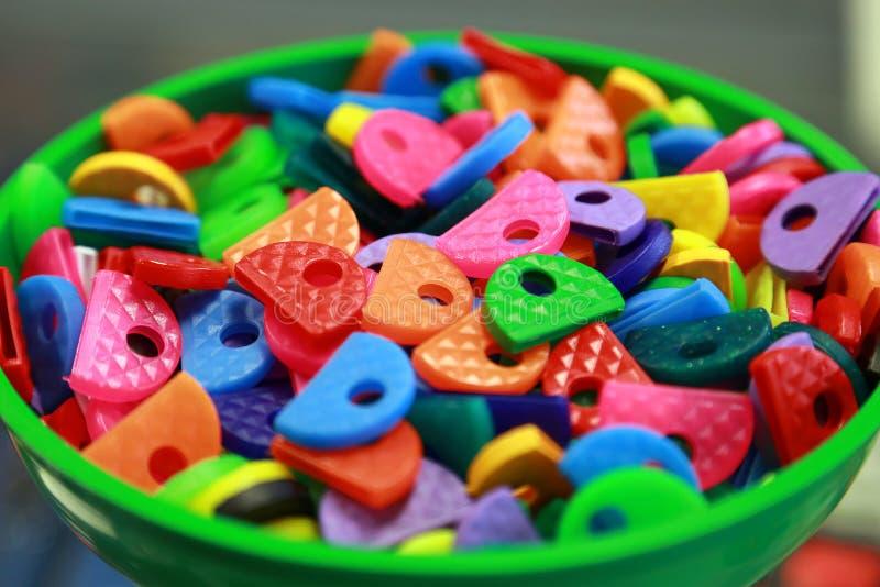 Etiquetas dominantes coloreadas fotos de archivo libres de regalías