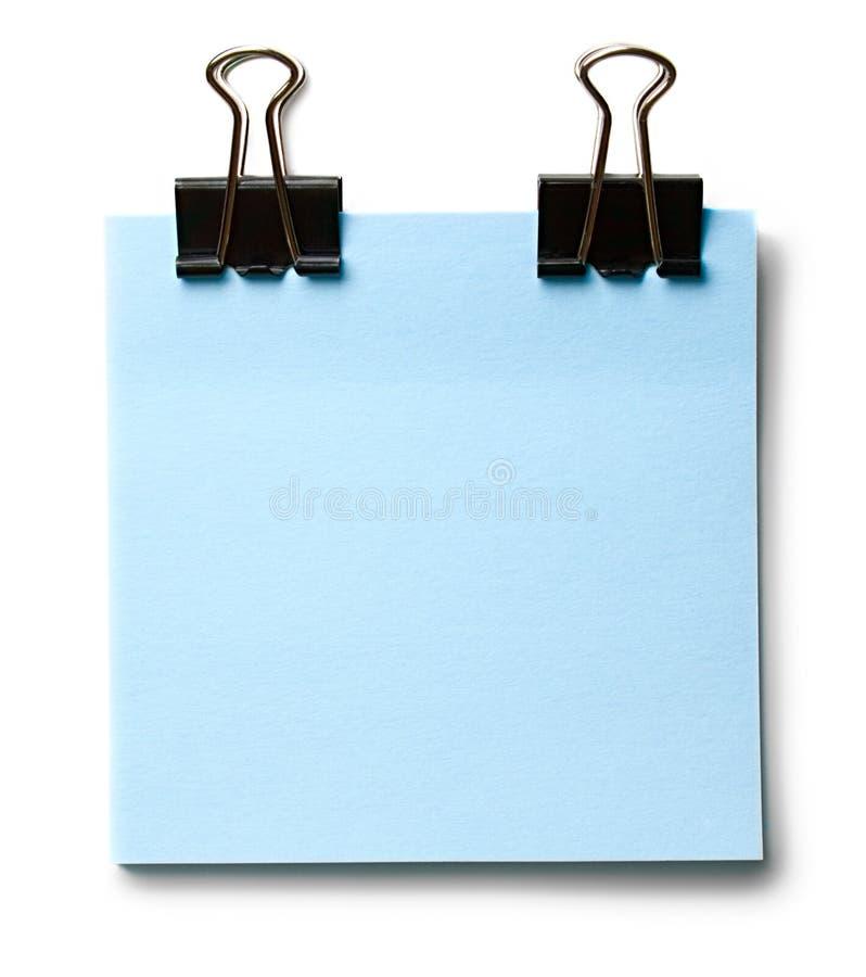 Etiquetas e grampo imagens de stock royalty free