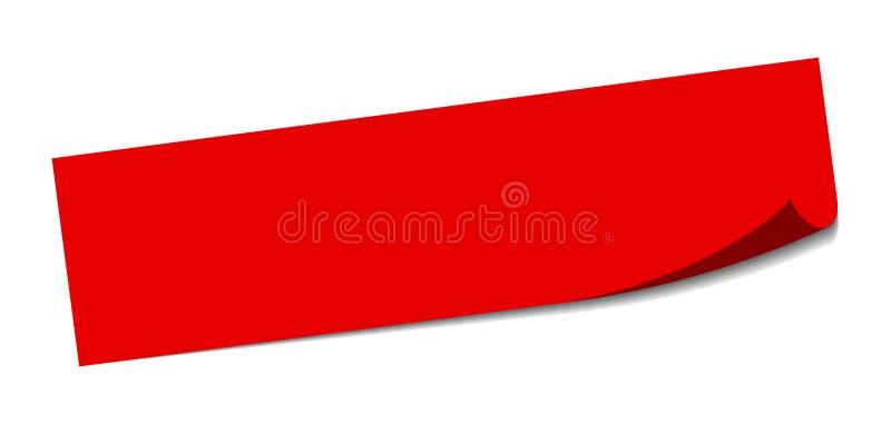 Etiquetas em branco Sinal quadrado vazio blank ilustração royalty free