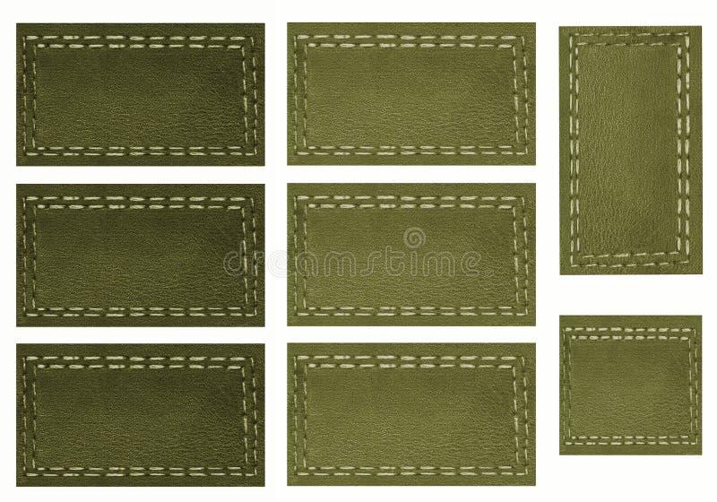 Etiquetas verdes, libro de recuerdos libre illustration