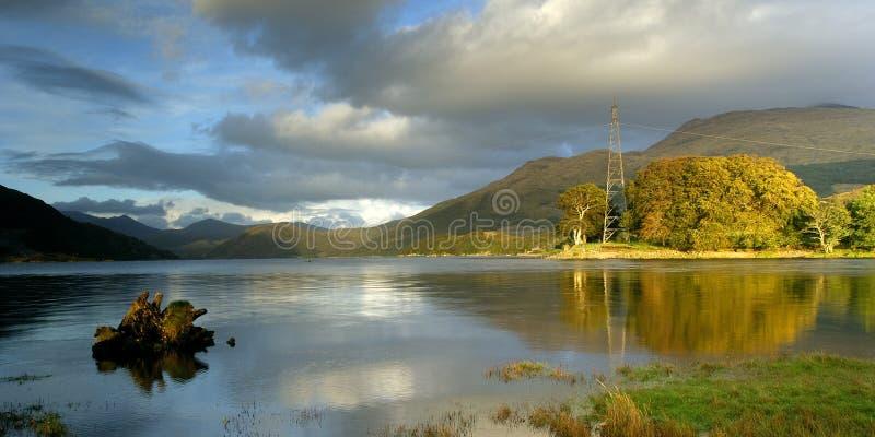 etive λίμνη στοκ φωτογραφίες με δικαίωμα ελεύθερης χρήσης