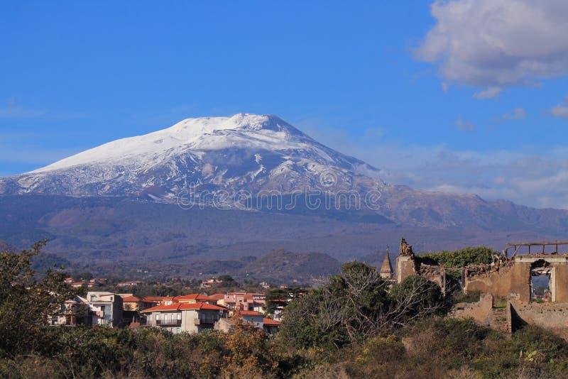 Etna arkivfoto