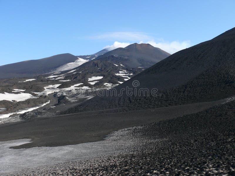 etna góry obraz royalty free