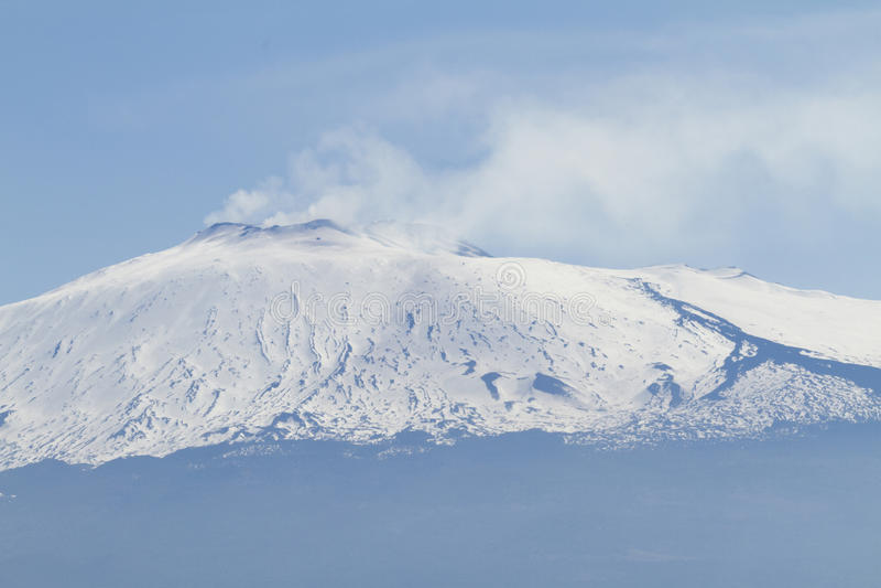 Etna Landscape fotografie stock libere da diritti
