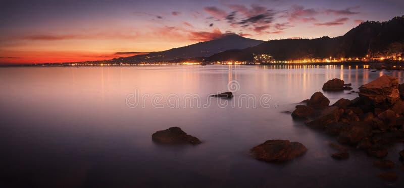 Etna, Sicilië royalty-vrije stock foto's