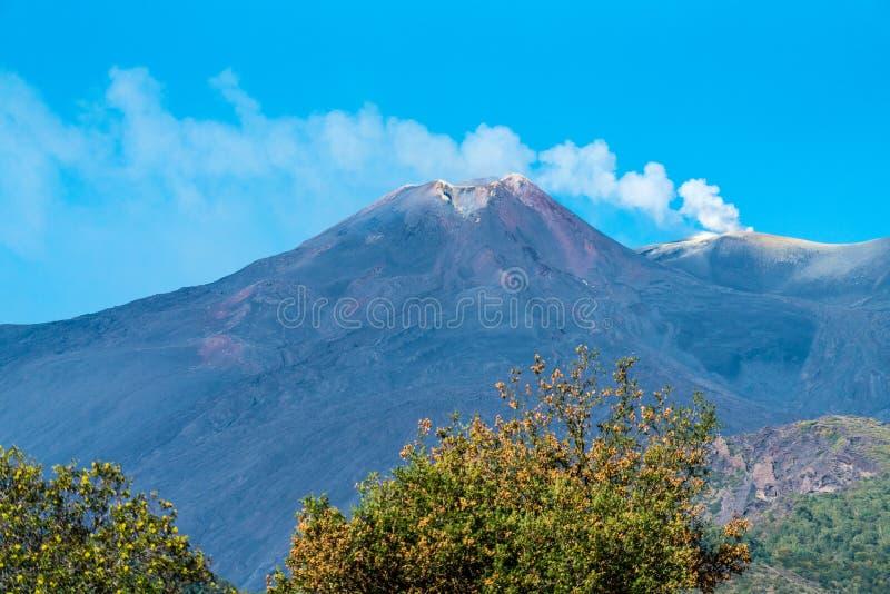Etna, Sicilië, Italië royalty-vrije stock foto