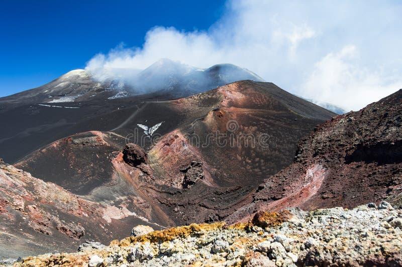 Etna Sicilia 2014 στοκ εικόνα