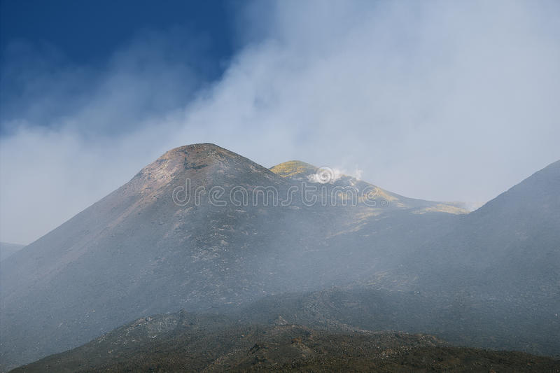 Etna Sicilia photo stock