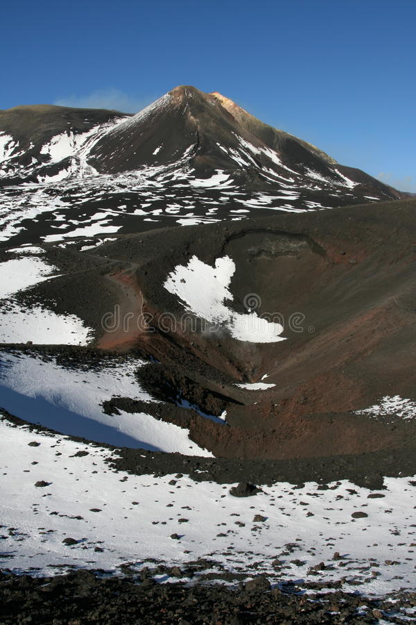 Etna Volcano royalty free stock photography