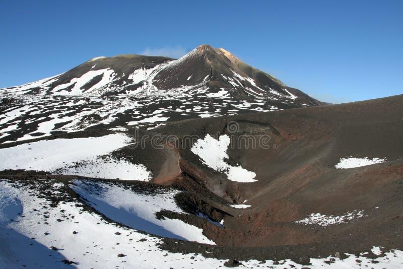 Etna Volcano royalty free stock photos