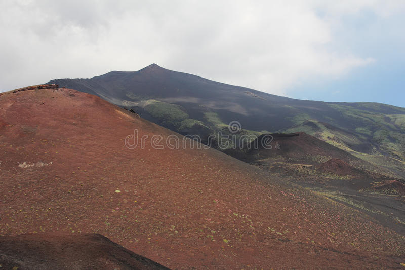 Download Etna volcano stock photo. Image of scenery, path, famous - 25634096