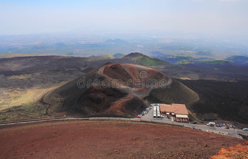 Etna Volcano Stock Photography
