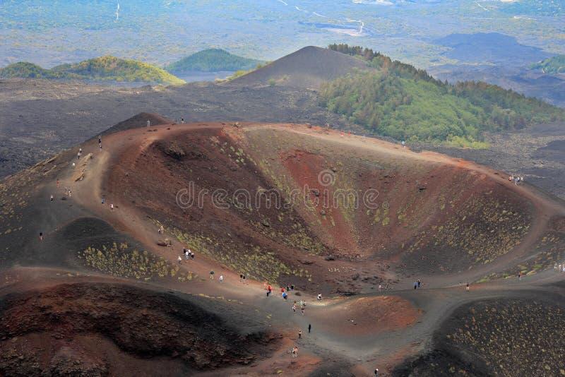 Download Etna volcano stock photo. Image of eruption, etna, natural - 25634166