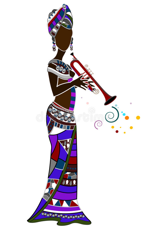 etniczny festiwal ilustracji