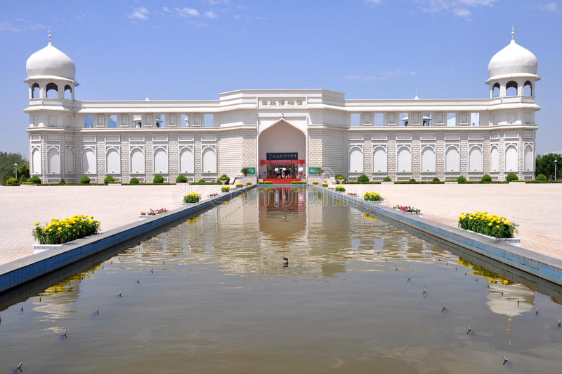 Etniczny Hui muzeum zdjęcie stock